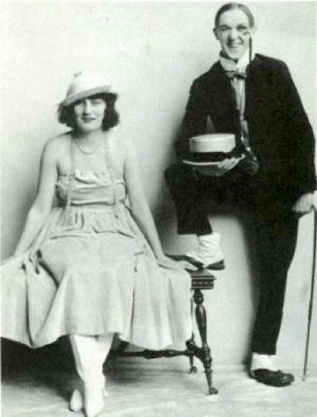 STAN and MAE LAUREL 1919