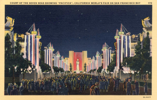 GOLDEN GATE EXPOSITION 1940 Pacifica night