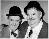 LAUREL and HARDY Newcastle 1953