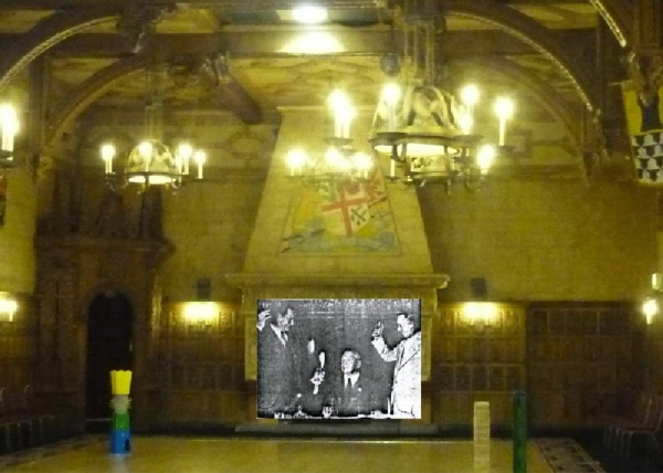 LAUREL HARDY Baronial Hall BLACKPOOL 1932