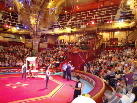 BLACKPOOL TOWER CIRCUS 2013 RING