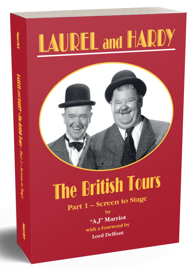 Laurel and Hardy Books British Tours pt1 2019 reprint