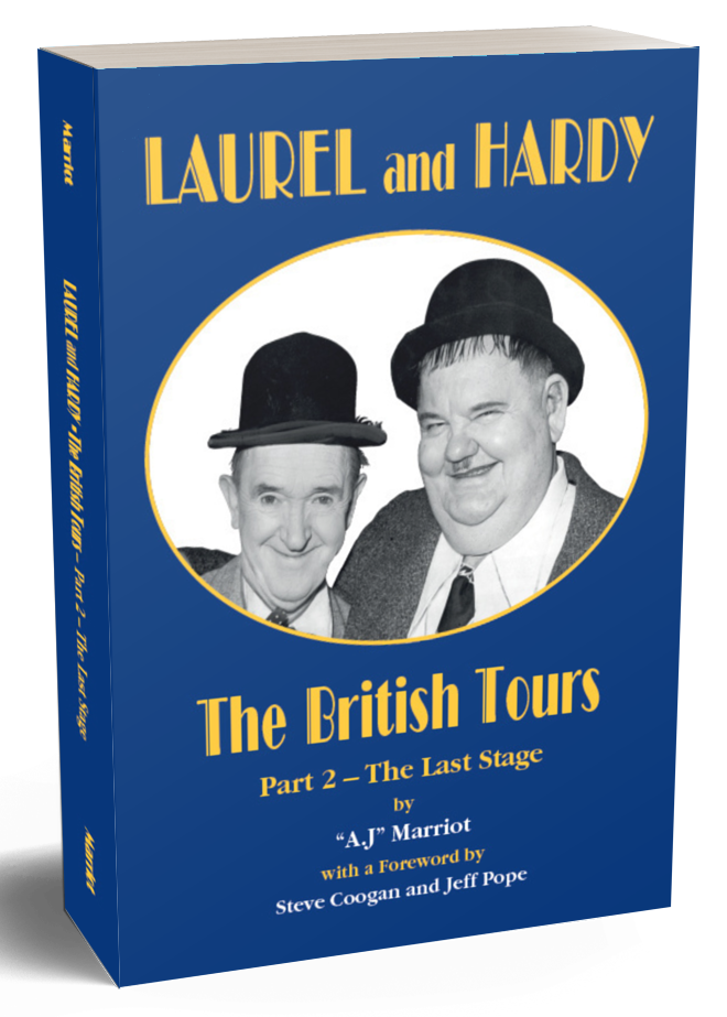 Laurel and Hardy Books British Tours pt2 2019 reprint