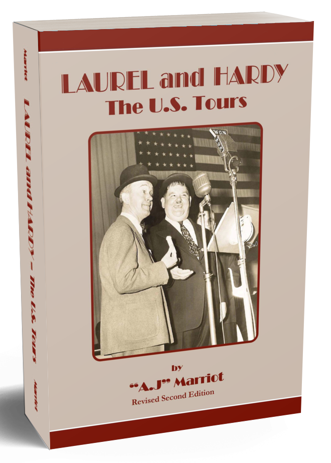Laurel and Hardy Books US Tours pt1 2019 reprint