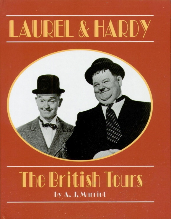 laurel and Hardy the British Tours book