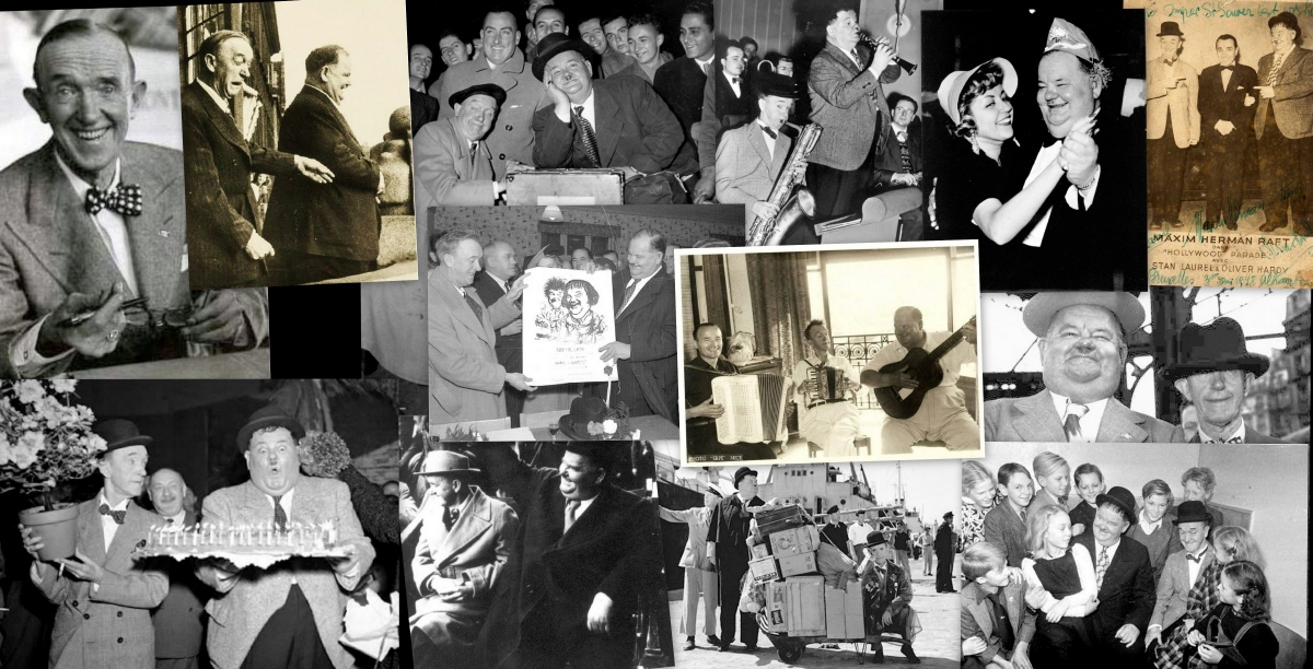 LAUREL and HARDY EUROPEAN TOURS