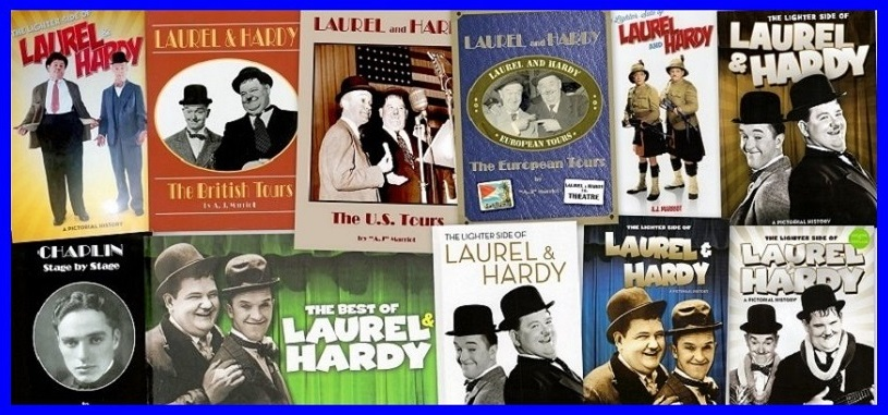 Laurel and Hardy Books by A.J Marriot