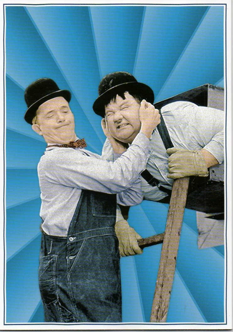Laurel & Hardy Legends of Comedy by A.J Marriot