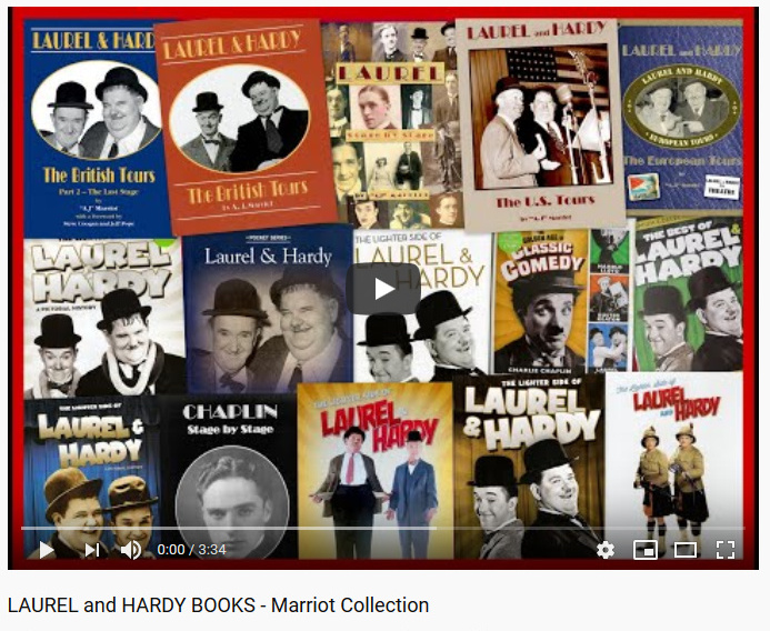 Laurel and Hardy Books by A.J Marriot on Youtube