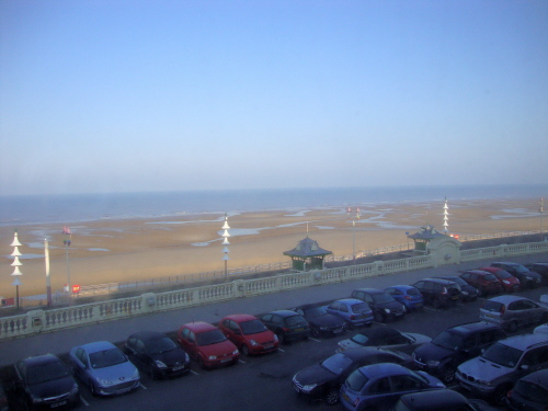 BLACKPOOL NORTH BEACH FROM METROPOLE 2013