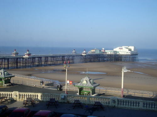 BLACKPOOL NORTH PIER FROM METROPOLE 2013
