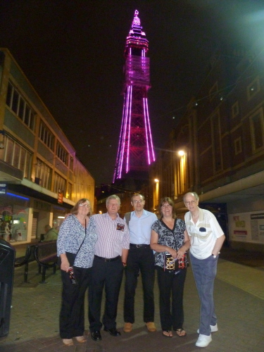 BLACKPOOL TOWER BY NIGHT 2013