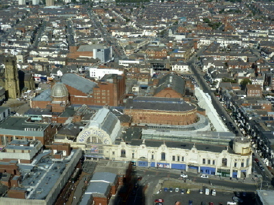 Winter Gardens from Blackpool Tower