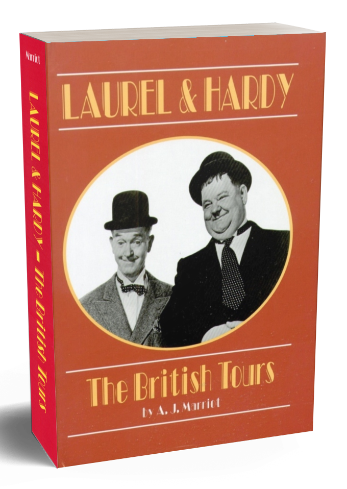 LAUREL and HARDY British Tours the book the film Stan & Ollie was based on.