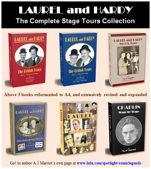 Laurel and Hardy books at Lulu.com