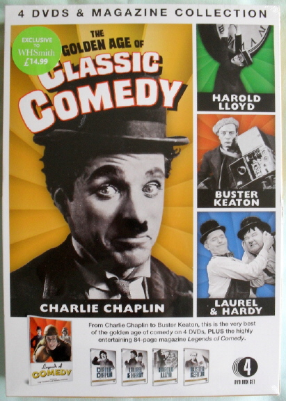 CHARLIE CHAPLIN DVD BOX SET by A.J Marriot.