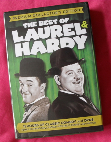 Best of LAUREL HARDY BOOKS 6 by A.J MARRIOT.