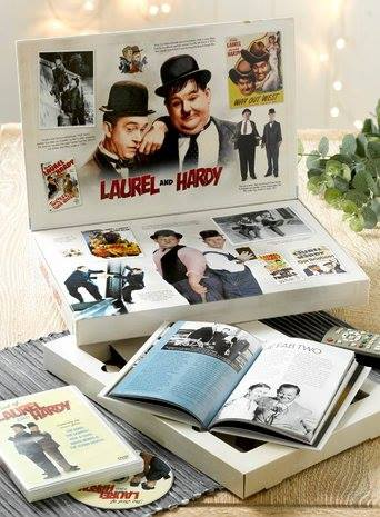 LIGHTER SIDE LAUREL HARDY box set by A.J MARRIOT.