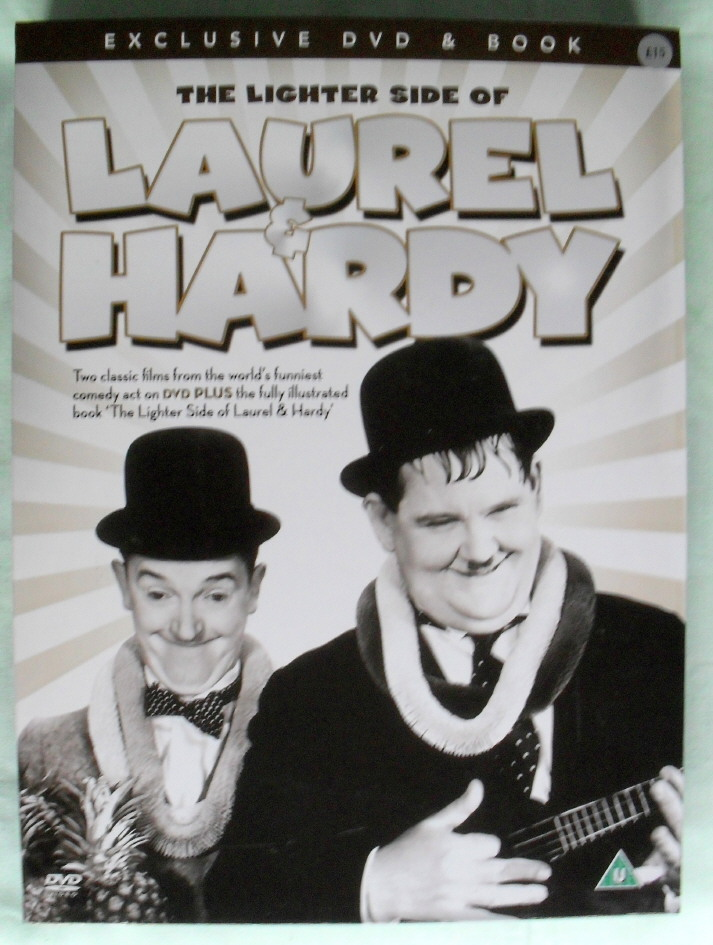 Lighter Side LAUREL HARDY by A.J MARRIOT.