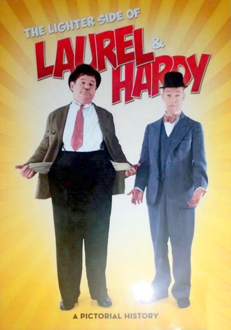 Laurel and Hardy The Lighter Side by A.J Marriot.
